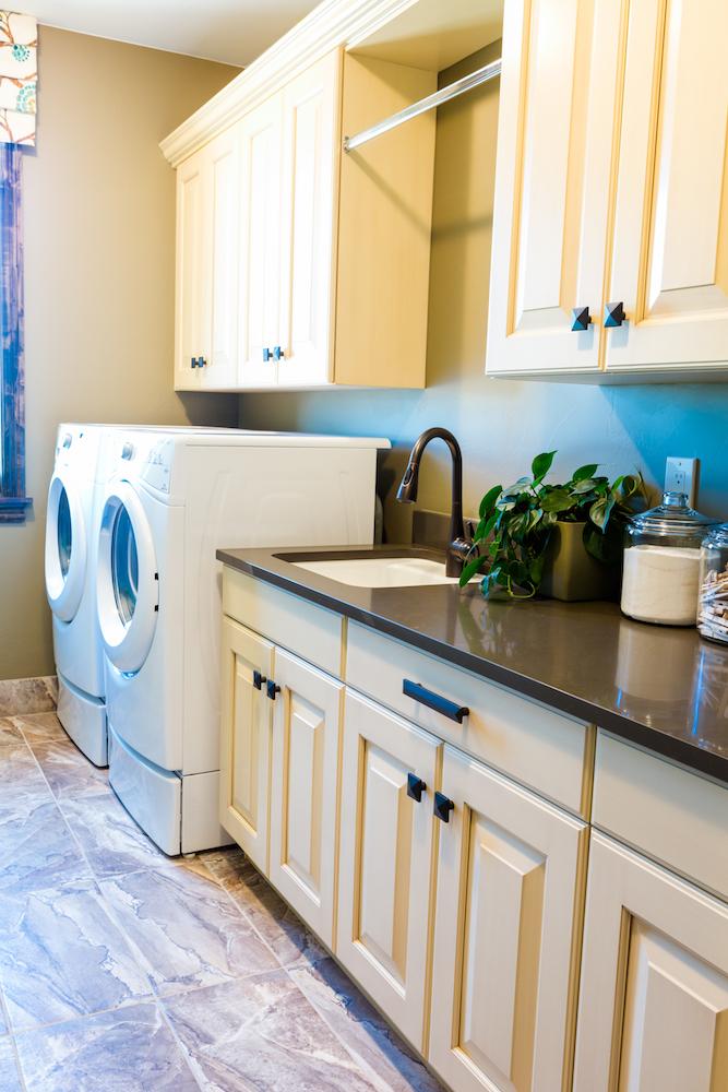 Closet Butler Laundry Room Custom Overhead Cabinets